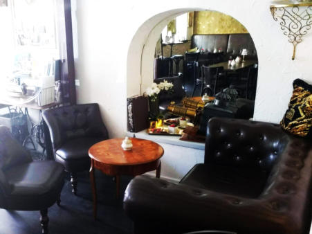 Café Kaffee-Klecks Markgröningen Chesterfield-Lounge